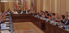 Pleno de la Diputación Provincial de Soria