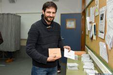 Jorge Ramiro espera que las elecciones sirvan para el cambio.