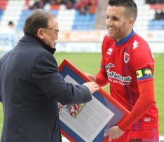 Álvarez y Rubio en el homenaje./SN