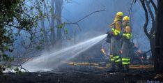 Labores de extinción del fuego. / SN