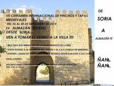 Cartel de Almazá Villa Medieval