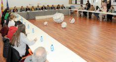 Participantes en el Consejo de Educación Abierto en Soria, este martes.