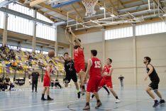 Jornada de baloncesto en el San Andrés entre el CSB y La Flecha. CSB