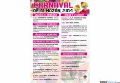 Cartel de los carnavales adnamantinos.