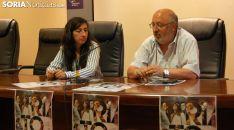 Laura de Diego y Amancio Martínez este lunes. /SN