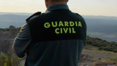 Guardia civil, en la provincia de Soria.