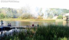 Una imagen del lugar del fuego. /SN