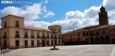 Plaza Mayor de Medinaceli, una de las localidades beneficiadas. /SN
