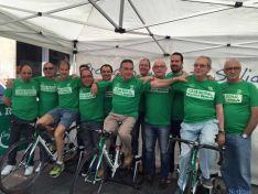 Comienzo de la Bicicleta Solidaria