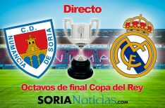 Directo Numancia Real Madrid