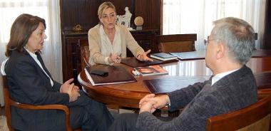 Reunión con el rector de la UNED