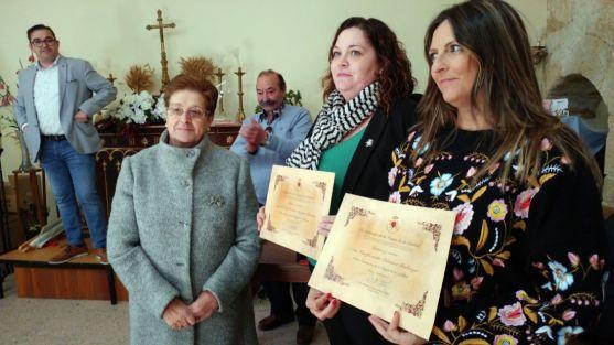 Pascuala del Hoyo, (izda.), María del Rosario Ramírez y Purificación Palomar. /M-Audiovisuales