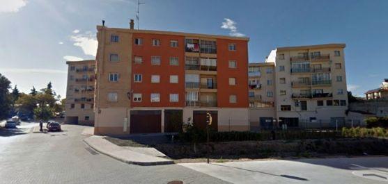 Viviendas en la avenida de Madrid, en la localidad.