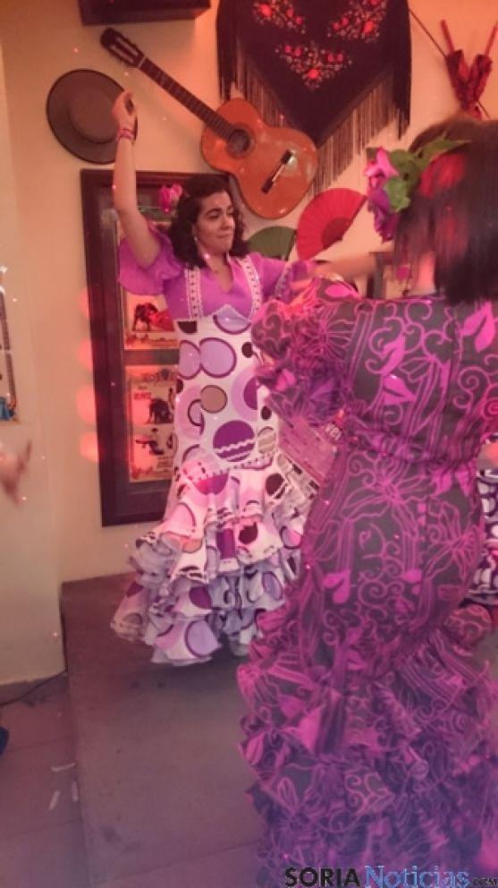 Baile por sevillanas en Soria