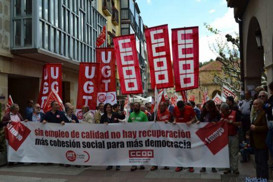 1 de mayo en Soria