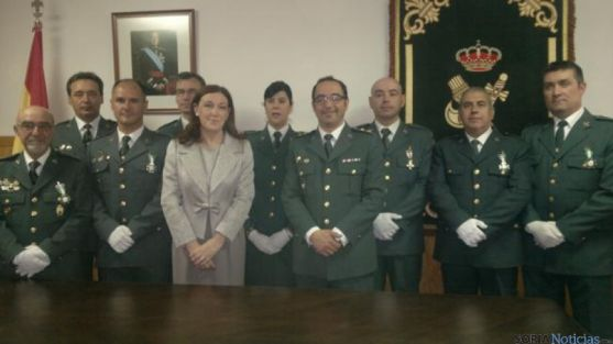 Acto celebración Guardia Civil