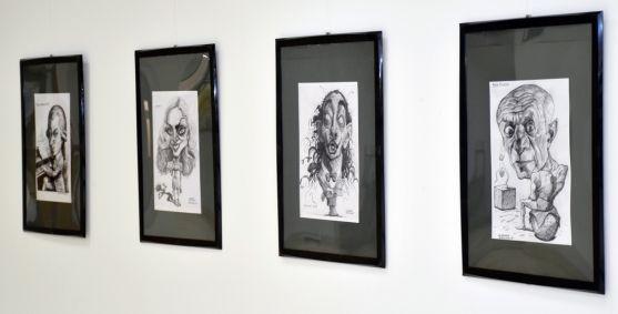 Algunas de las obras expuestas./Jta.