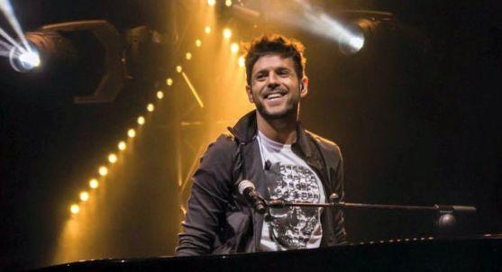 Pablo López en un concierto.