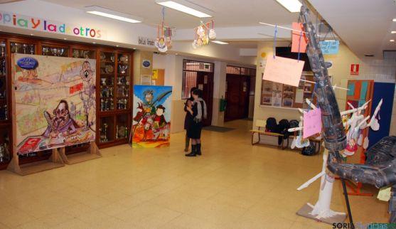 Un pasillo del centro. / IES P