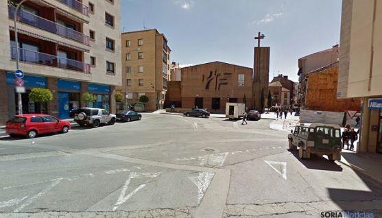 La plaza, en una imagen de archivo. / GM