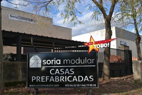 Instalaciones de Soria Modular.