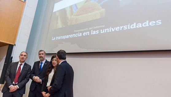 Una imagen de la presentación del informe. /UVa