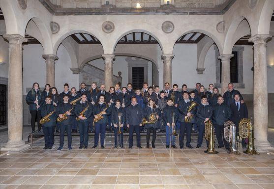 Exposición de la banda municipal de Ágreda. /SN
