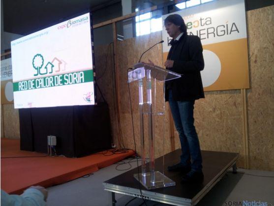 Carlos Martínez en Expobiomasa