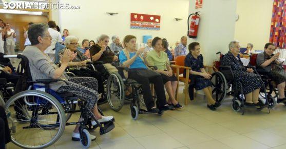 Jubiladas en una residencia. / SN