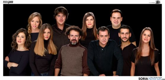 Grupo de actores de 'Feelgood'