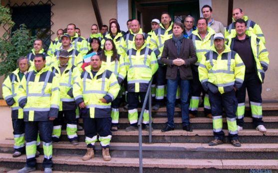 Trabajadores del Plan de Empleo para barrios