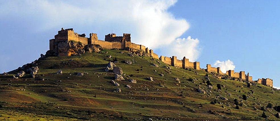 Imagen de la fortaleza de Gormaz