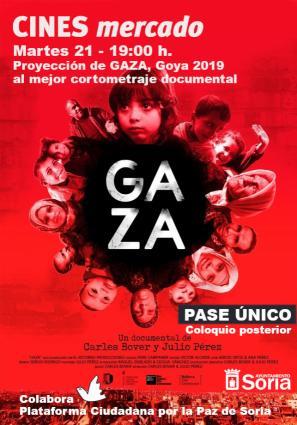 Gaza (Pase único + coloquio) Entrada Gratuita