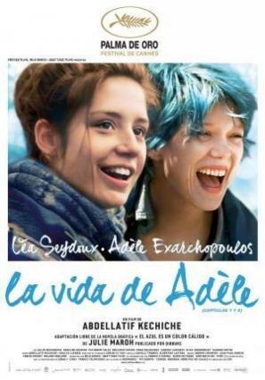 """La vida de Adèle V.O.S.E. Ciclo \""""Diferentes formas de amar\"""""""