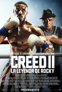 Cartel Creed 2 La leyenda de Rocky