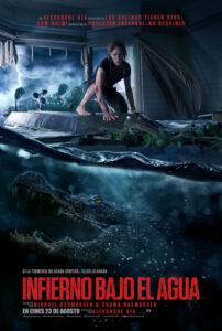 Cartel Infierno bajo el agua