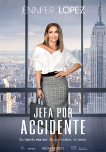 Cartel Jefa por accidente