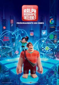 Cartel Ralph Rompe Internet