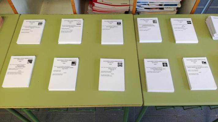 La jornada electoral en Soria en imágenes    Imagen 1