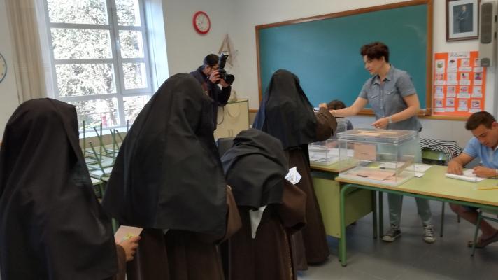 La jornada electoral en Soria en imágenes    Imagen 5
