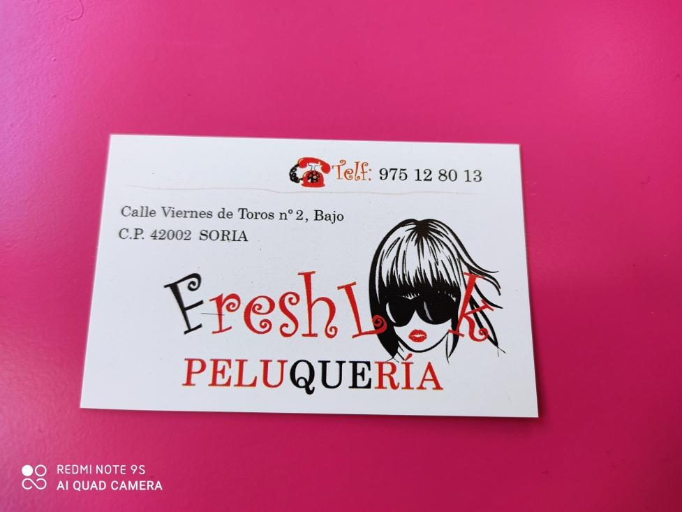 Peluqueria fresh look