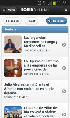 App de SORIANOTICIAS.COM