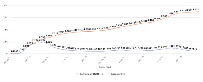 Todos los datos del coronavirus en Soria al cierre de 2020   Imagen 5