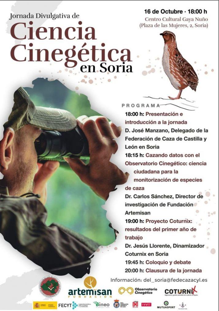 Soria acogerá este sábado una jornada de divulgación de Ciencia Cinegética | Imagen 1