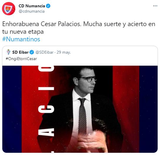 César Palacios ficha por el Éibar   Imagen 1