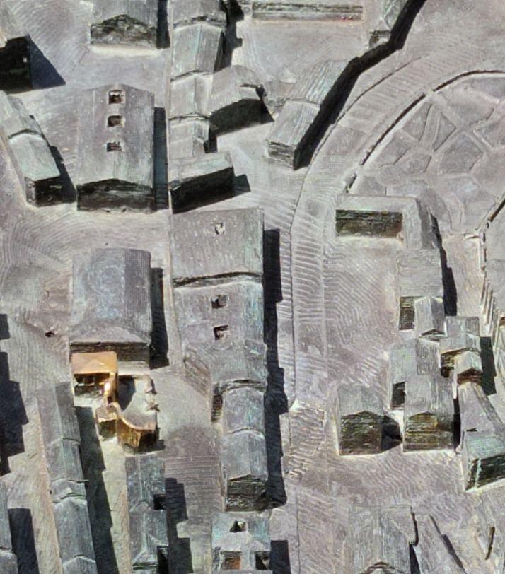 El reto: ¿Eres capaz de identificar los 49 edificios dorados de la gran maqueta de Soria? | Imagen 6