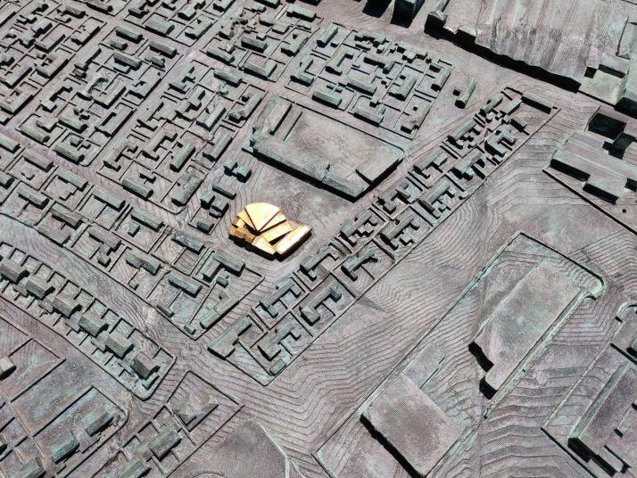El reto: ¿Eres capaz de identificar los 49 edificios dorados de la gran maqueta de Soria? | Imagen 9