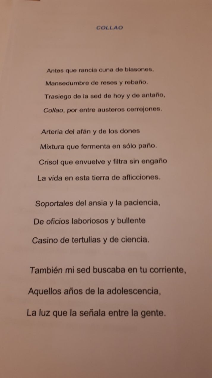 Soneto 'Collao'
