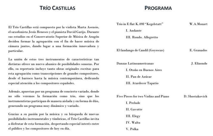 El viernes, concierto de música clásica en el Casino   Imagen 1