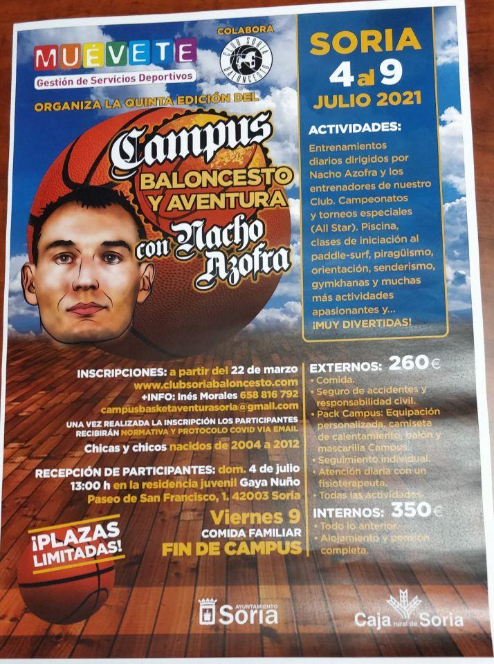 Vuelve el Campus de Baloncesto en Soria con Nacho Azofra   Imagen 1